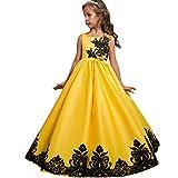 bf8f35e70df6 Costume da Principessa Unicorno per Bimba con Vestito Lungo Compleanno  Ballerina Abiti Bambini Carnevale Halloween Cosplay
