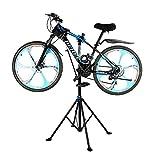 Zerone Support de Réparation pour Vélo, Pied d'Atelier de Réparation Vélo VTT Hauteur Réglable Stand de Réparation Rotatif 360° (Modèle 1)