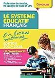 Telecharger Livres Le systeme educatif francais en fiches memos Edition 2017 2018 (PDF,EPUB,MOBI) gratuits en Francaise
