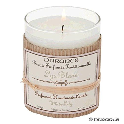 Durance de Provence handgefertigt Duftkerze - White Lily