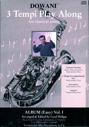 Album Vol. I (Very Easy) for Alto Saxophone in Eb and Piano: 1