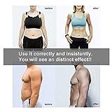 Appareil Abdominal,Charminer Smart Ceinture Abdominal Massage Musculaire Bras Multiple Endroit Fitness ou Cuisses Entraînement Tonifier pour Femme Homme