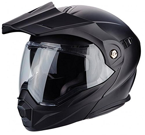 Scorpion Helm Motorrad adx-1, matt black, (Outfits Französisch)