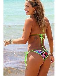 4f41a15d89a1 Suchergebnis auf Amazon.de für  thong bikini - Schwarz  Bekleidung