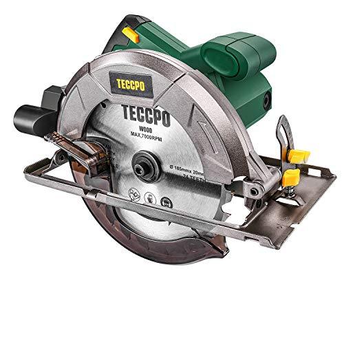 Scie Circulaire, TECCPO Professional 1200W Scie Circulaire...