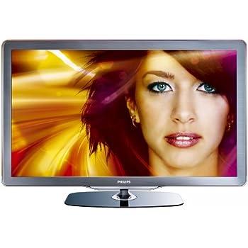 Philips 32PFL7605H/12 81,3 cm (32 Zoll) LED-Backlight-Fernseher (Full-HD, 100Hz, Ambilight Spectra 2, DVB-T/-C) Energieeffizienzklasse C schwarz/silbergrau gebürstete Decofront