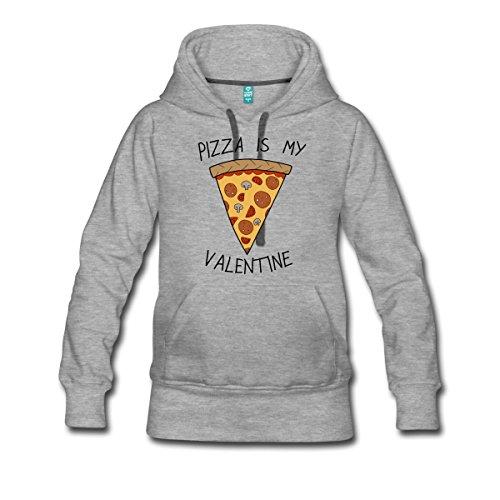 anti-valentinstag-pizza-is-my-valentine-humor-frauen-premium-kapuzenpullover-von-spreadshirtr