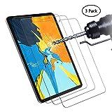 Didisky Pellicola Protettiva in Vetro Temperato per iPad PRO 11 [Tocco Morbido ] Facile da Pulire, Facile da installare, Trasparente [ 3 Pezzi ]