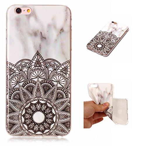 Cover iPhone 6 6s, Sportfun Modello in marmo morbido protettiva TPU Custodia Case in silicone per iPhone 6 6s (04) 03