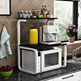 INDIAN DECOR 48800 Kitchen Shelf Microwave Oven Rack, Kitchen Metal Storage Rack, Modern