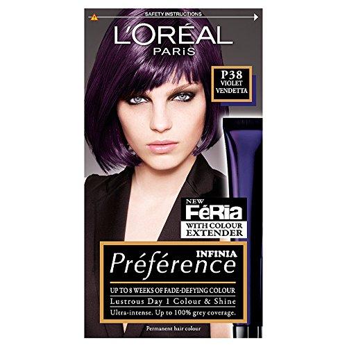 L\'Oréal Preference Feria P38 Violet Vendetta, Haarfärbemittel