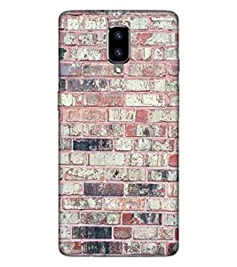 For OnePlus 5 vintage wall ( vintage wall, wall, brick wall, brick ) Printed Designer Back Case Cover By CHAPLOOS