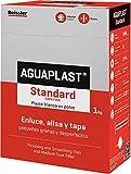 AGUAPLAST 5448B7 Standard Plaste blanco en polvo para grietas, 5 Kg