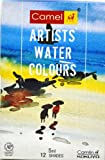 Artist Water colour tubes