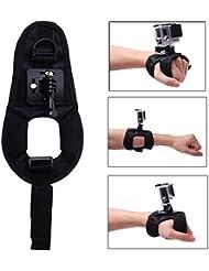 XCSOURCE® Einstellbare Handschuh Stil Handgelenk Handschlaufe Wrist Band Berg für GoPro Hero 2 3 3 + 4 SJ4000 SJ5000 OS128