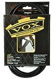 Vox VGC-13BK Câble de guitare professionnel Classe A, 33 cm