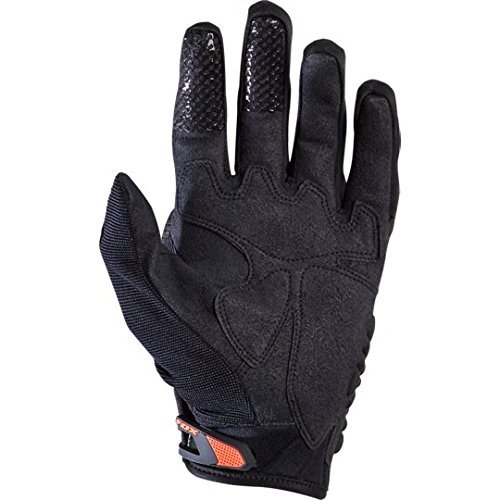 Fox Herren Handschuhe Bomber, Black/Orange, M, MTB15S-03009-016 - 2