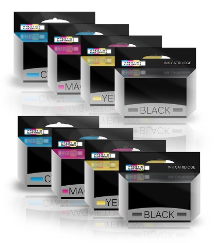 KIT 8 Compatibile 35XL Cartucce di inchiostro per Epson WorkForce Pro WF-4720DWF, WF-4725DWF, WF-4730DTWF, WF-4730DWF, WF-4740DTWF, WF-4740DWF - NERO(x2)/CIANO(x2)/MAGENTA(x2)/GIALLO(x2)