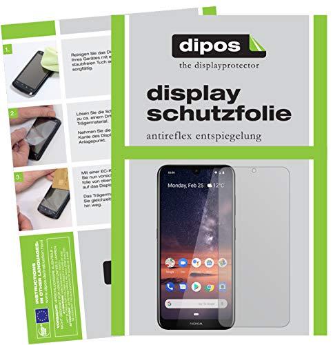 dipos I 6X Pellicola Protettiva antiriflesso per Nokia 3.2 Pellicola di Protezione