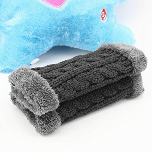 Sciarpa uomini inverno lana cashmere sciarpe ladies ' maglia di lana a cavallo del vento e spesse collare termico,grigio scuro