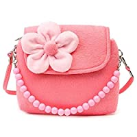 Moppi Strap Children Girls Princess Package Messenger Single Purse Shoulder Bags Kids Handbag Flower Mini Cute Coin