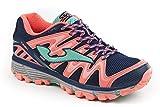 JOMA Trek Lady, Zapatillas de Running para Asfalto para Mujer, Azul (Navy), 38 EU