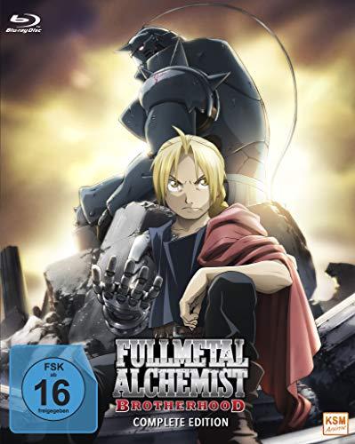 Fullmetal Alchemist: Brotherhood - Complete Edition (Episode 01-64 + OVA 01-04) [Blu-ray]