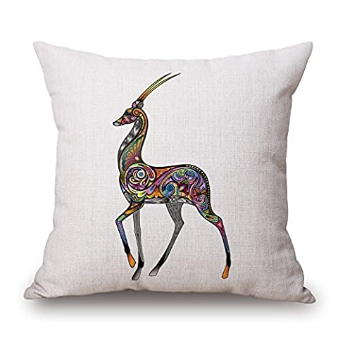 Bestseason Deer Cushion Covers 16 X 16 Inches / 40
