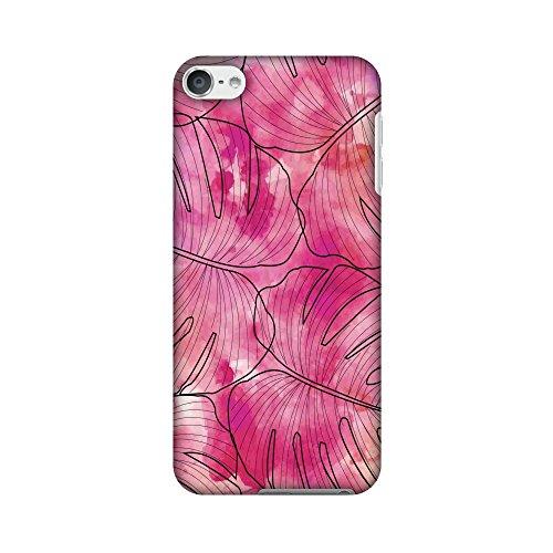 Amzer Case/Schutzhülle, handgefertigt, Designer-Hartschale, inkl. Reinigungs-Kit für iPod Touch, Rosa, Tropic, HD, mit Schutzhülle (Ipod-reinigungs-kit)