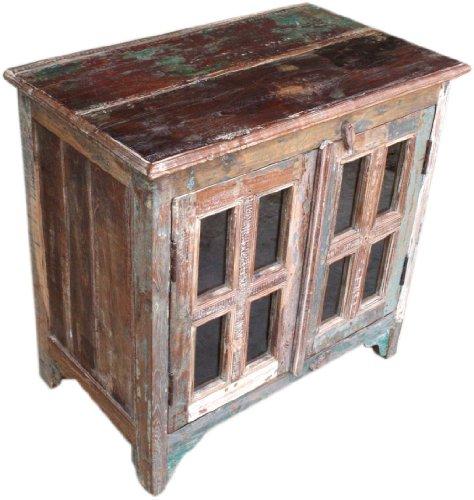 Guru-Shop Aparador Antiguo (JH7-362), 75x75x46 cm, Cómodas y Aparadores