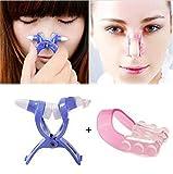 2er Set Nasenclip Nasenklammer Stupsnase Slimmer Clip Nase Shaper Schmale Kleine Nase Stupsnase Farbe Zufällig(Ohne Verpackung)