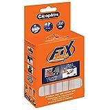 Cléopâtre - PO60RCT - Cleo'Stick FIX - Pack de 60 Bâtons de recharge de colle universelle pour Pistolet à Colle