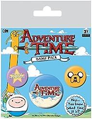 Hora de Aventuras Pack 5 Chapas