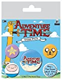 Adventure Time Spilla Pin Badges 5 Pack Pyramid International - Pyramid International - amazon.it