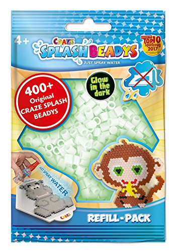 CRAZE 11874 Splash BEADYS-Refill-Pack White GID