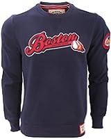 Brave Soul Mens Burgess Boston Baseball Sweatshirt