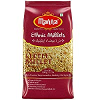 Manna Little Millet 2kg (Kutki/Samai/Same/Samulu)