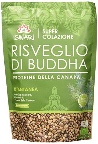 Iswari Risveglio di Buddha Proteine della Canapa 360 g