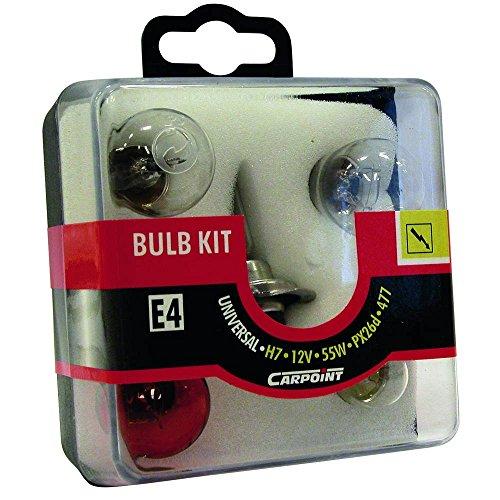 Carpoint 0725004 Lampes pour Voiture H7 55W Orange