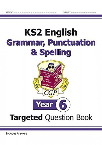 KS2 English Targeted Question Book: Spelling - Year 5 (for the New Curriculum) by CGP Books (2014-05-22)
