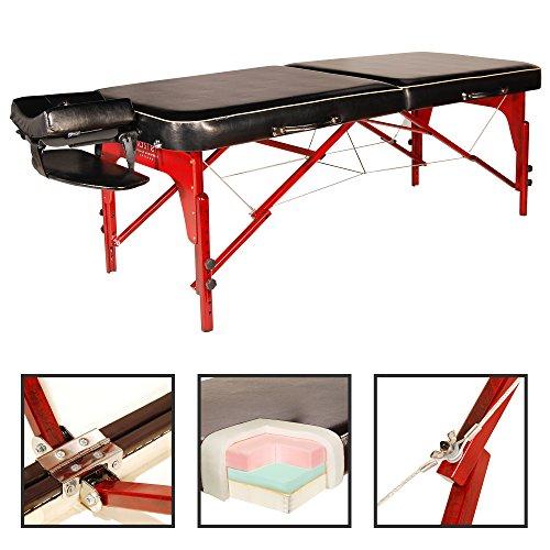 Photo de master-massage-monroe-table-de-massage-portable-70-cm-noir