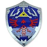 Zelda Triforce Métal Shield Link Jeu Vidéo d'Hyrule Awakening Temps de Légende