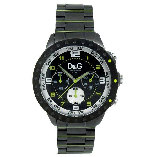 03ad7aec2d76 Dolce   Gabbana Dolce Gabbana – Reloj analógico de cuarzo para hombre con  correa de acero inoxidable ...
