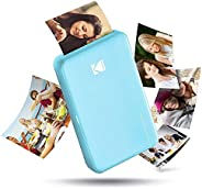 Kodak Mini 2 Instant Wireless Photo Printer - Blue