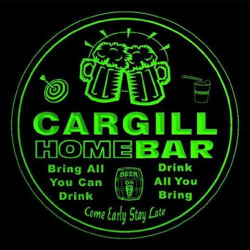 4x-ccq07005-g-cargill-family-name-home-bar-pub-beer-club-gift-3d-coasters