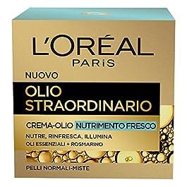 L'Oréal Paris Olio Straordinario Crema Viso-Olio Nutriente