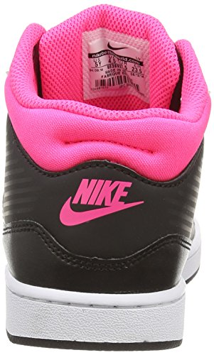 Nike Priority Mid (Gs), Baskets Basses Mixte Enfant Noir (black/white-hyper Pink 016)
