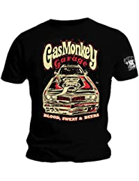 Gas Monkey Garage Official GMG T Shirt Camaro Blood Sweat All Sizes