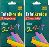 Idena Tafelkreide, 12 Stangen farbig (2)