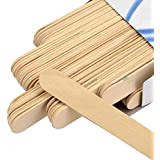 CETC Wooden Professional Disposable Wax Knife/Spatulas/Applicators 100 pcs Box